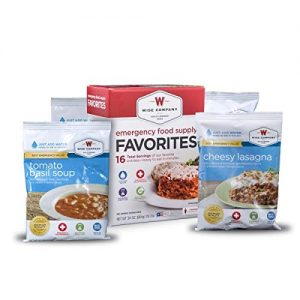 Wise Foods Emergency Survival Freeze Dried Food Favorites Sample 10