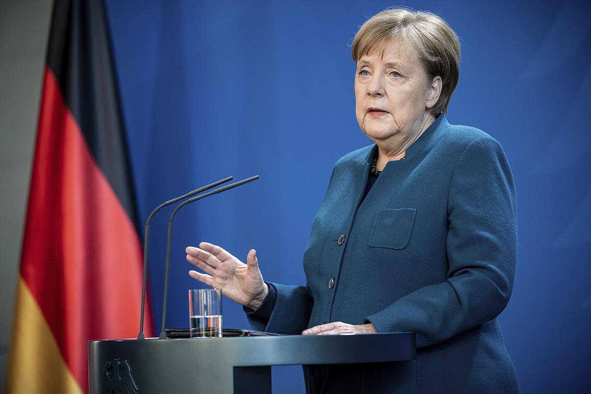 Merkel: Coronavirus pandemic revealed Europe's fragility 1