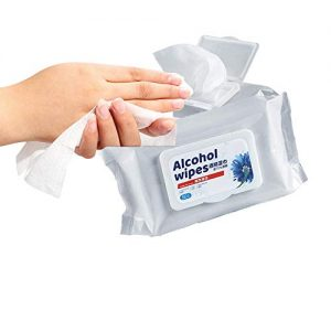 Alcohol Wipes for Hands and Cleaning 10