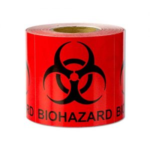 Biohazard Warning Labels 12