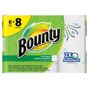Bounty Paper Towels 6