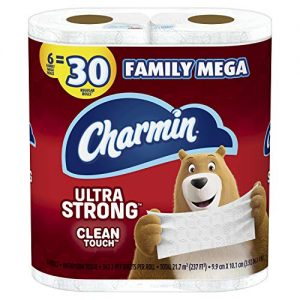 Charmin Ultra Strong Toilet Paper 10