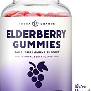 Elderberry gummies 8