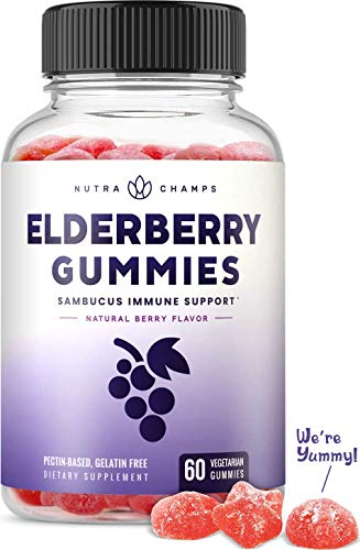 Elderberry gummies 5