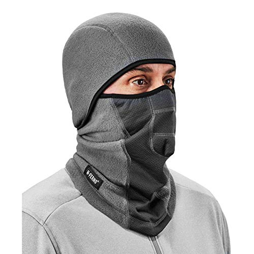 Ergodyne N-Ferno 6823 Balaclava Ski Mask, Wind-Resistant Face Mask, Hinged Design