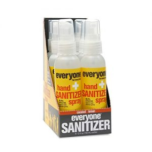 Everyone Hand Sanitizer Spray 12
