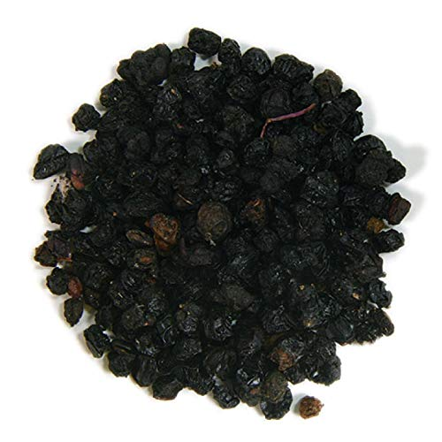 European Whole Elderberries - Organic 1lb Bag 4