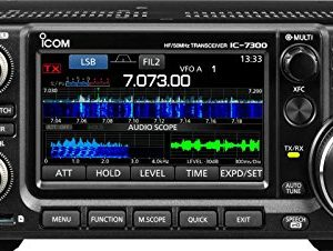 ICOM 7300 Direct Sampling Shortwave Radio 9
