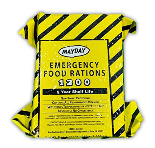Mayday Industries 1200 Calorie Food Ration Bar