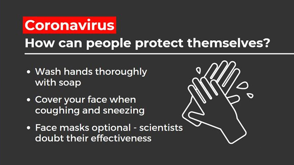 How can you prevent getting the Coronavirus? 1