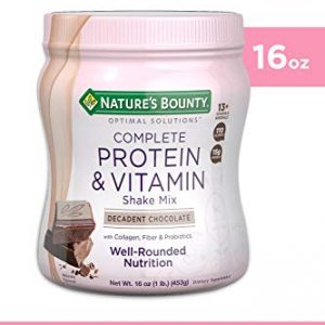 Optimal Solutions Protein & Vitamin Shake Mix 8