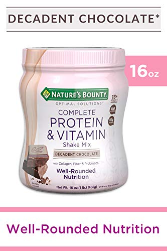 Optimal Solutions Protein & Vitamin Shake Mix 12