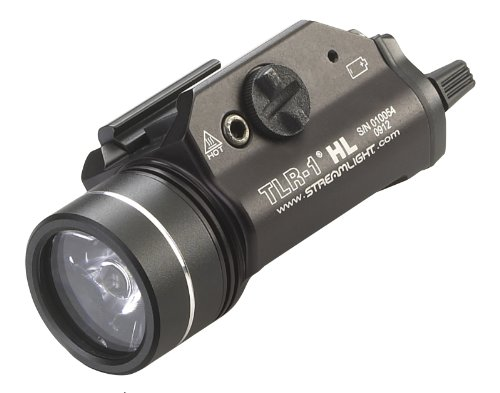 Streamlight 69260 TLR-1 HL Weapon Mount Tactical Flashlight 8