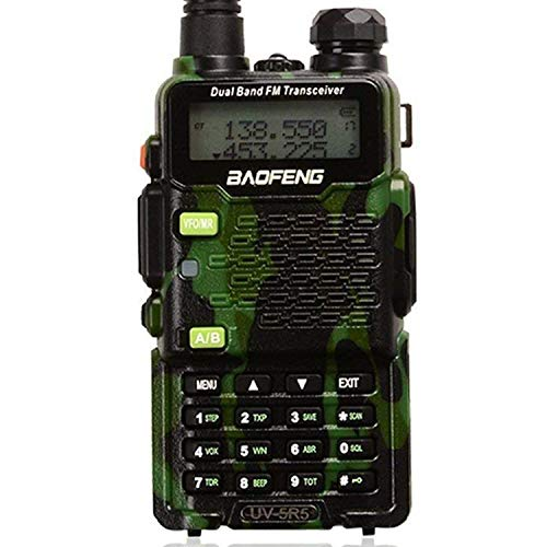 Baofeng UV-5R5 Two-Way Ham Radio Transceiver 8