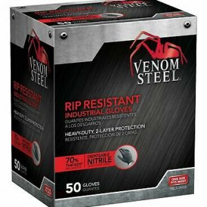 Venom Steel Nitrile Gloves 22