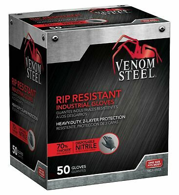 Venom Steel Nitrile Gloves 7
