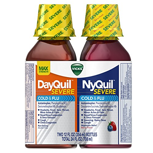 Vicks DayQuil and NyQuil SEVERE Cough, Cold and Flu Relief 7