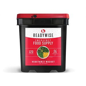 ReadyWise Emergency Freeze Dried Vegetables 10