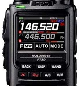 Yaesu FT-3DR 5W Digital Transceiver with Touch Screen Display 12