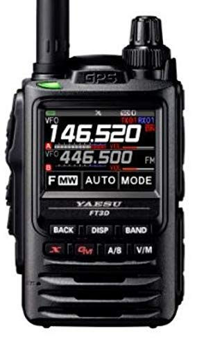 Yaesu FT-3DR 5W Digital Transceiver with Touch Screen Display 7