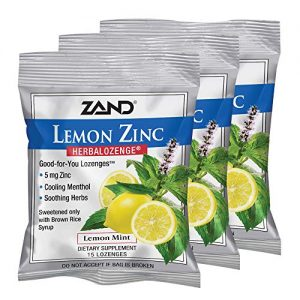Zinc Lozenges 12