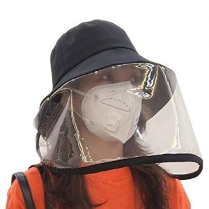 Isolation Hat Face Shield and Personal Windshield 10