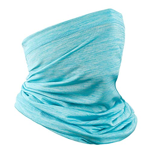 Achiou Neck Gaiter Summer Face Scarf Mask-Dust for Women Men, Sun Protection Thin Windproof, Breathable Fishing Running Cycling Cool