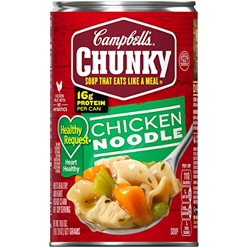 Campbell's Chunky Chicken Noodle Soup 10
