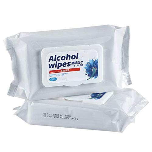 "Cleansing Wipes (2 Packs,100Wipes),Large Wet Wipes(8""x6"")"