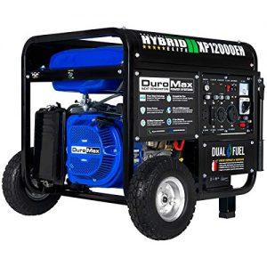 DuroMax Dual Fuel Portable Generator 10