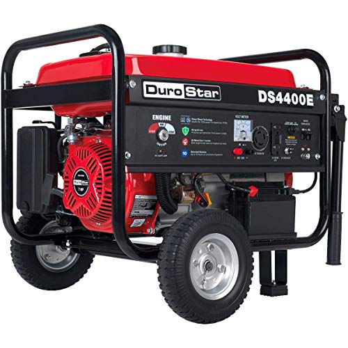 Durostar DS4400E Portable Generator, Red/Black
