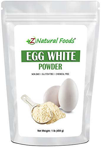 Egg White Protein Powder - Perfect Low Carb Protein For Cooking, Baking, & Shakes - All Natural, 100% Pure, Unflavored & Unsweetened - Keto & Paleo Diet Friendly - Non GMO, Gluten Free, Kosher (1 lb)