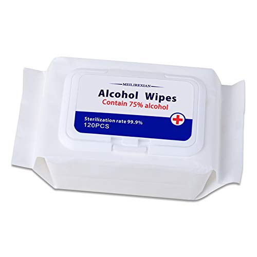 Hand Wet Wipes,120 PCS Wet Wipes per Pack,Hand Refreshing Wipe, Disposable Wipes Suitable for Daily Use,Travel,Cleaning Cloths