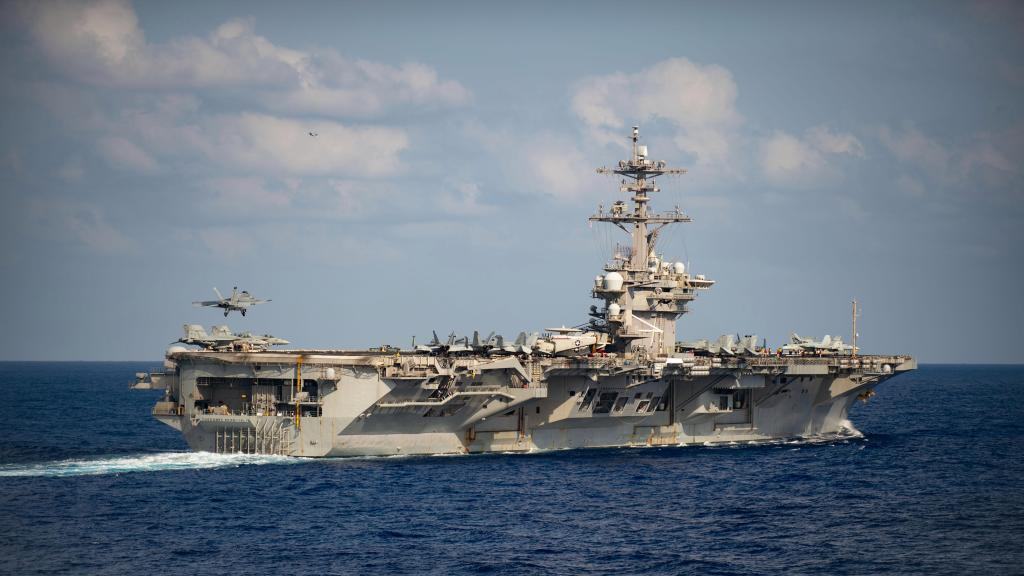 USS Teddy Roosevelt sailor with COVID-19 found unconscious, transferred to intensive care 1