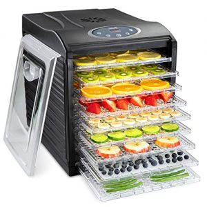 Ivation 9 Tray Food Dehydrator 11