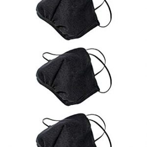 Los Angeles Apparel 3 Pack Black Mask 20