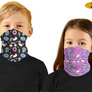 Kids Sibling Bandanas Face Mask 2PC Set 10