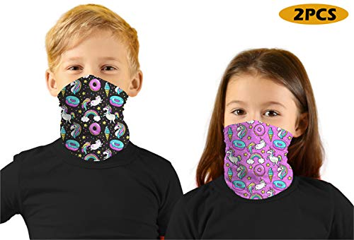 Kids Sibling Bandanas Face Mask 2PC Set 7