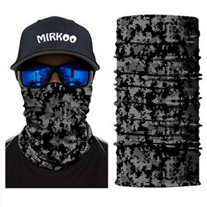 3D Camo Seamless Tube Face Mask 10