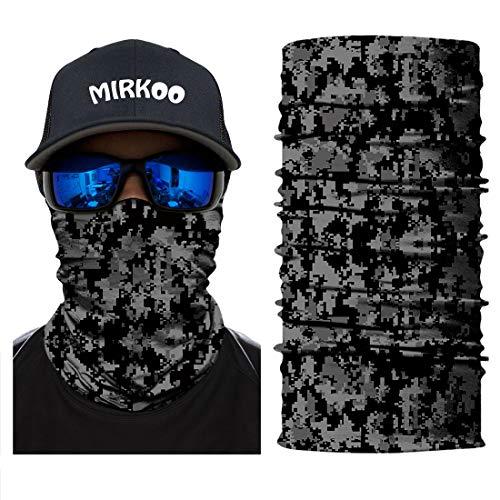 3D Camouflage Face Mask (OCAMO-345) - DARK GRAY