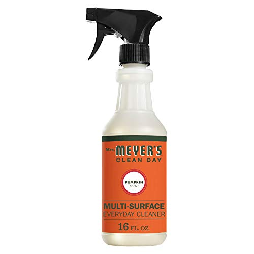 Mrs. Meyer's Clean Day Multi-Surface Everyday Cleaner, Pumpkin Scent, 16 ounce bottle