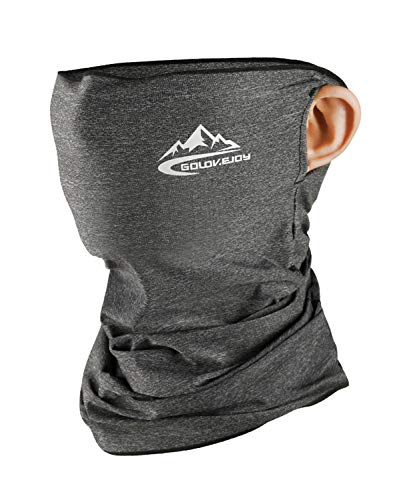 Neck Gaiter Face Mask Shield - Light Grey