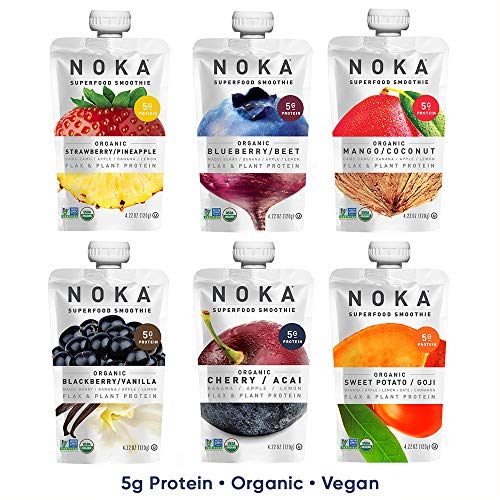 NOKA Superfood Pouches 4