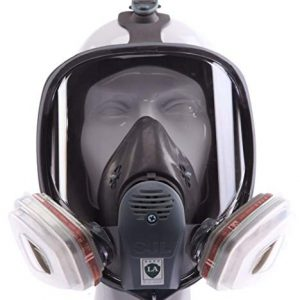 Full Face Protection Respirator 6