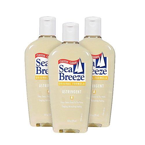 Sea Breeze Deep Cleaning Facial Original Astringent, 10 Fluid Ounce (Pack of 3)