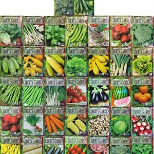 Liberty Garden Premium Variety Herbs and Vegetables Seeds 10