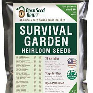 Open Seed Vault Survival Garden 9