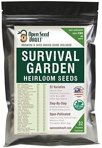 Open Seed Vault Survival Garden 7