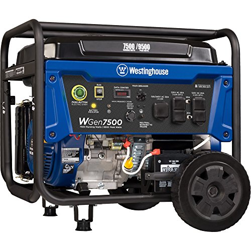Westinghouse Portable Generator with Remote Electric Start 12