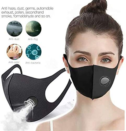 Zeiger Face Masks with Breathing – 100% Cotton, Washable, Reusable Cloth Masks – Protection from Dust, Pollen, Pet Dander, Other Airborne Irritants